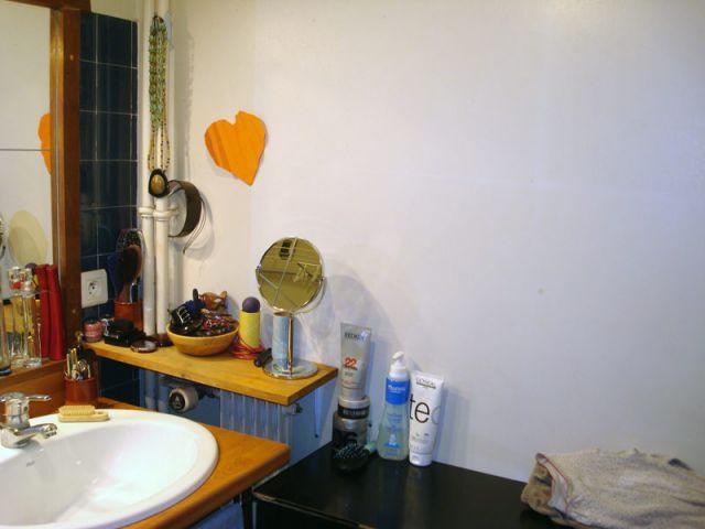 Pas de rangements - Salle de bains
