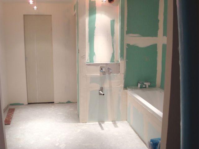 Pas de contraintes techniques - Salle de bains