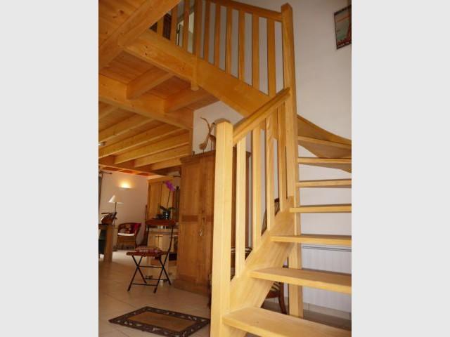 Intérieur bois - Reportage maison bois