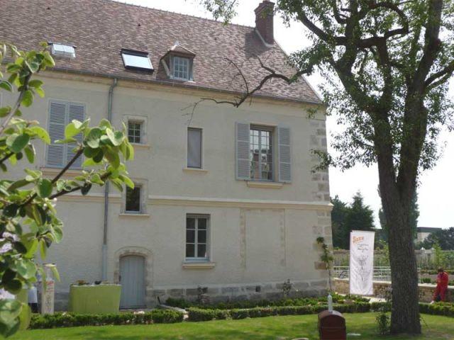 Maison vue du jardin - maison Cocteau