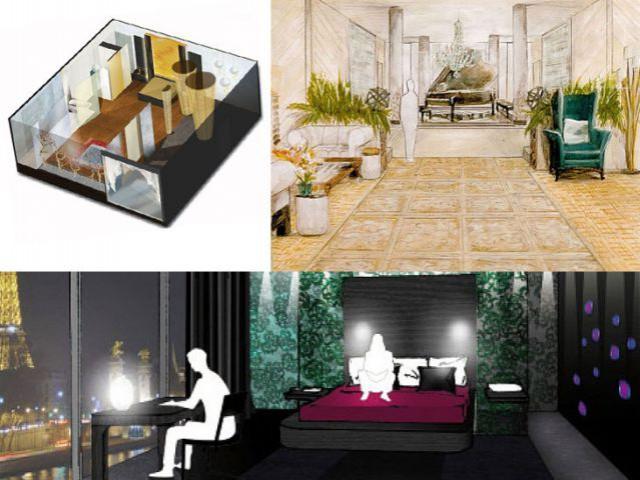 terre de design bienvenue dans la chambre d 39 h tel de luxe de demain. Black Bedroom Furniture Sets. Home Design Ideas