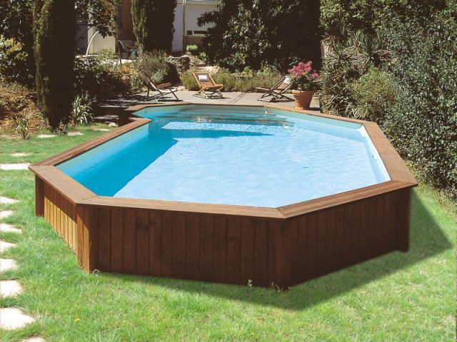 Une piscine vite install e for Beaver pool piscine