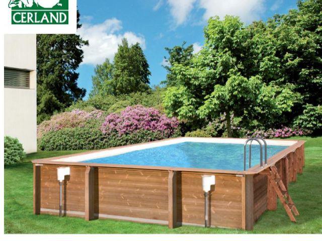 Une piscine vite install e for Piscine cerland