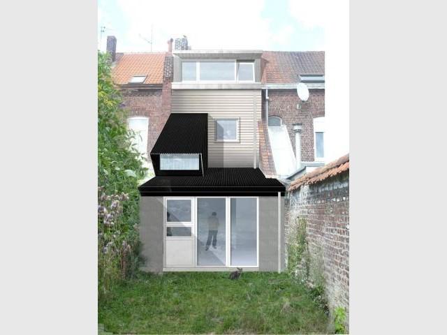 Maison témoin - projet Stephenson