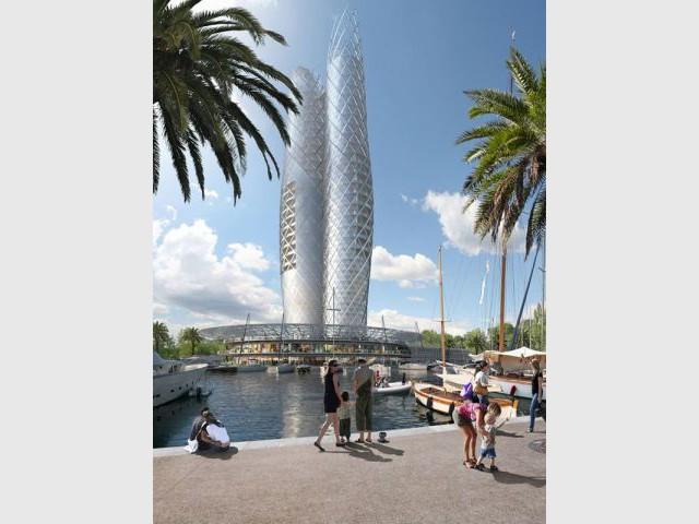Un projet situé dans la célèbre station balnéaire de Saint-Tropez - projet cogolin st tropez