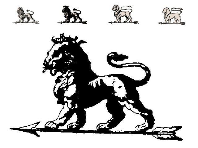 1850 : le lion - Peugeot