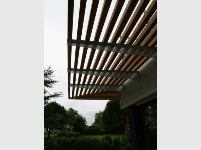 Casquette bois - Atelier Fromont Architecture Conseils et Associés