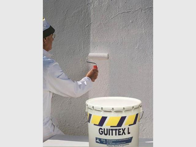 Protéger la façade - peinture