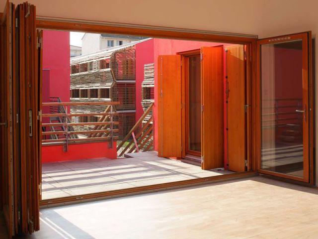 Un espace-salon doublé - construction neuve