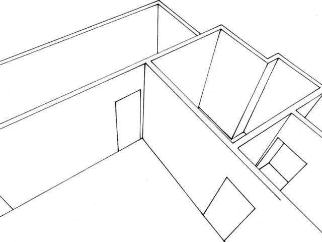 """Cuisine """"couloir"""" de 7 m² - cuisine moderne fonctionnelle"""