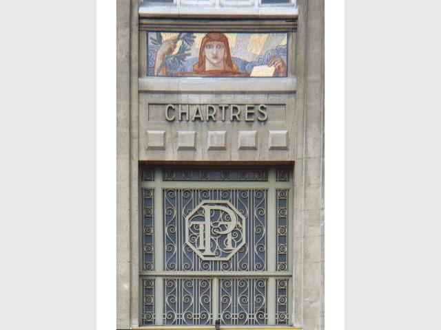 Chartres - Hôtel des postes - architecture postale