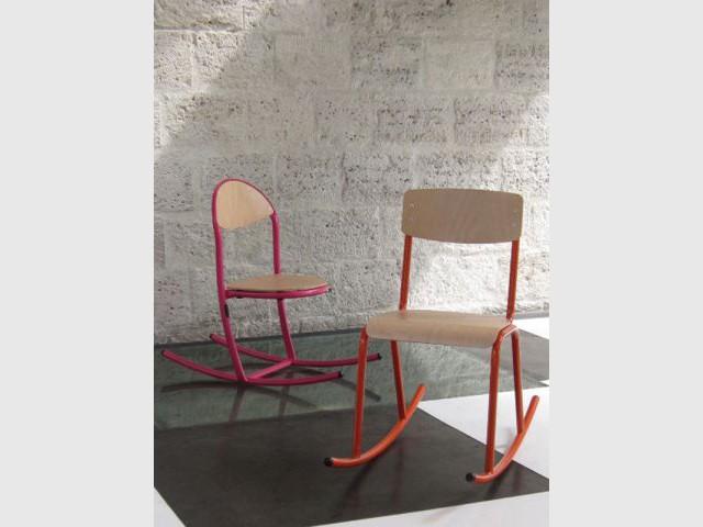 Chaise à bascule - design meuble enfant