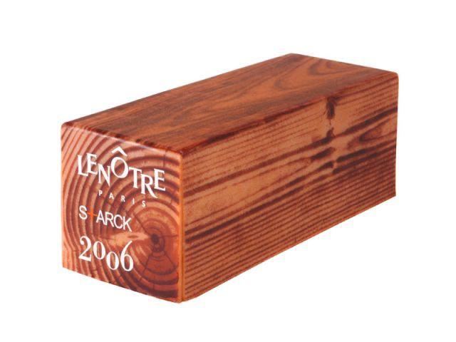 bûche Starck-Lenôtre - Philippe Starck (Noël 2006)