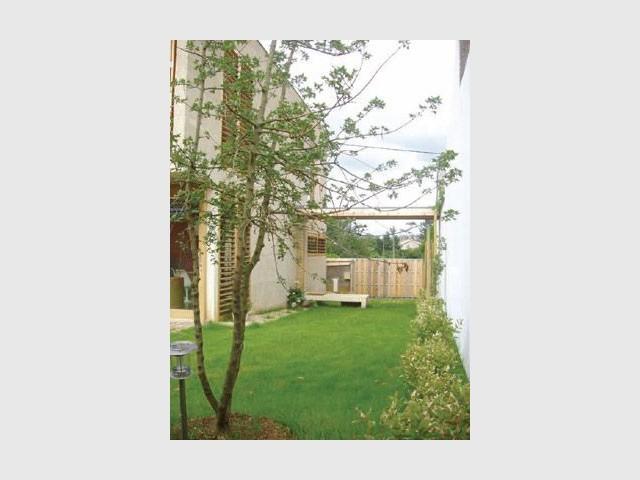 Jardin - maison 10x10