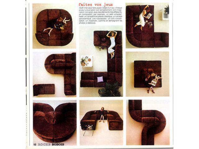 catalogue Roche Bobois 1973