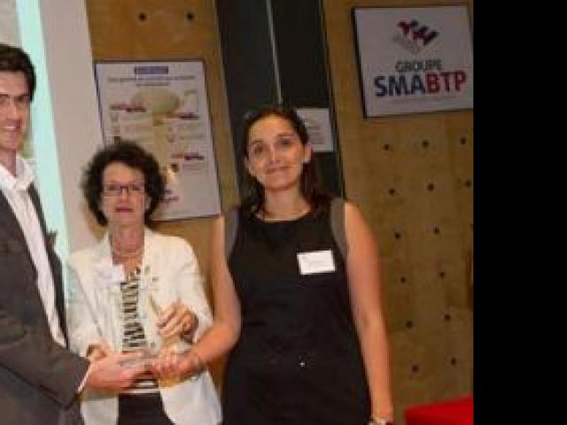 Prix PRO BTP - Création/Reprise d'enteprise - trophées 2010