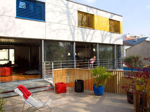 Une superficie de 22 m2 - maison