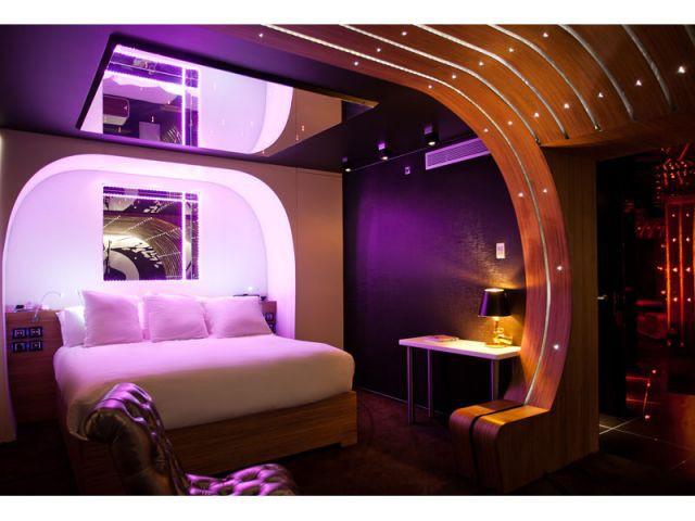 007 - le lit - hôtel Seven