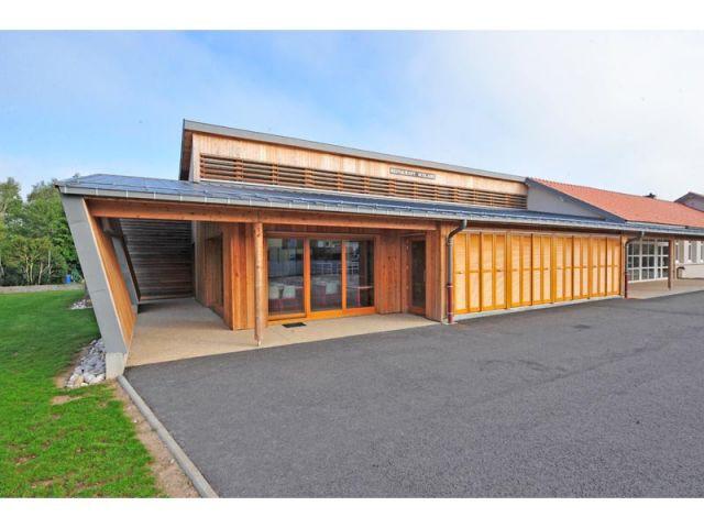 Restaurant scolaire - Uxegney (88) - Trophées habitat et bois 2010