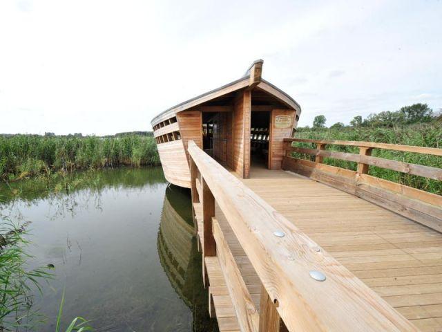 Observatoire à oiseaux - Morhange (57) - Trophées habitat et bois 2010