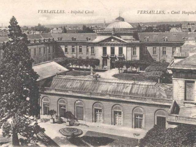L'ancien hôpital civil - hôpital Royal Richaud Versailles