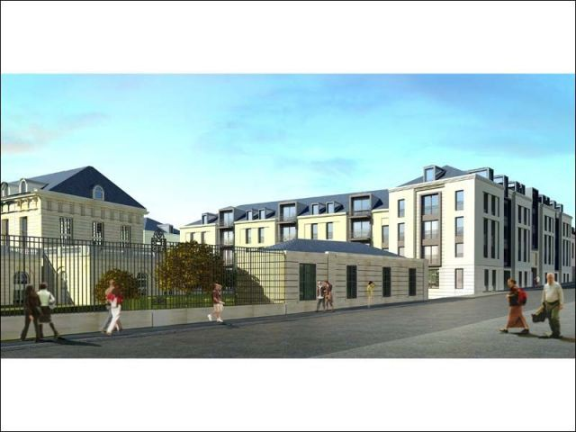 Bâtiments neufs - hôpital Royal Richaud Versailles