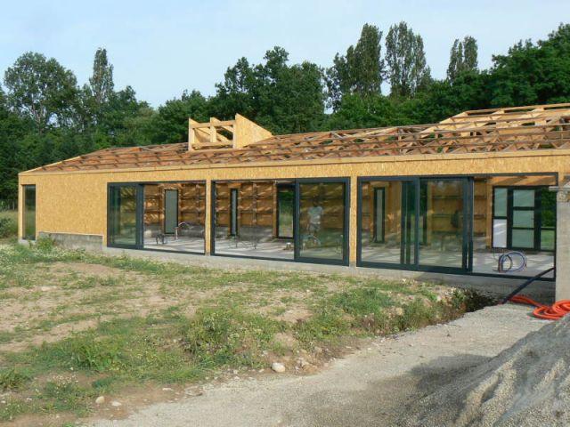 Travaux - Juin 2008 - Reportage rénovation porcherie