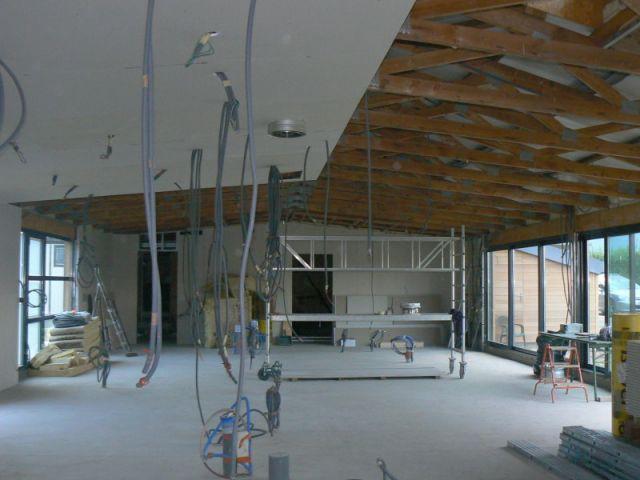 Travaux - Septembre 2008 - Reportage rénovation porcherie