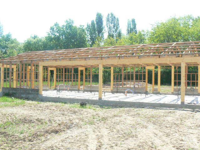 Travaux - Mai 2008 - Reportage rénovation porcherie