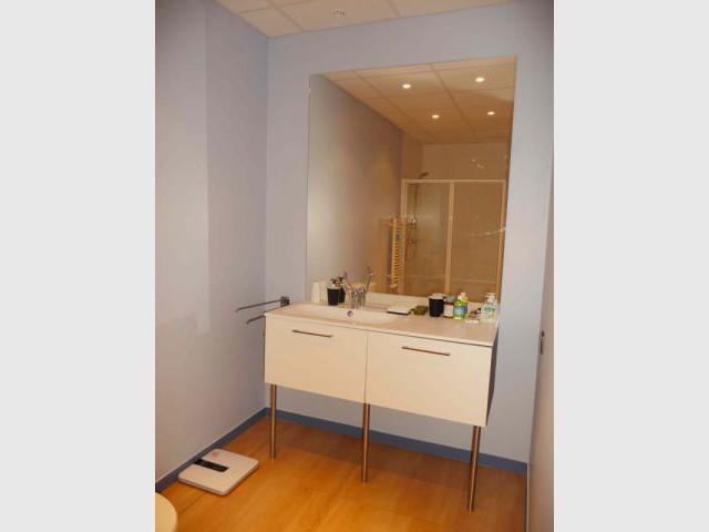 Salle de bains - Reportage Appartement témoin Institut de la Vision