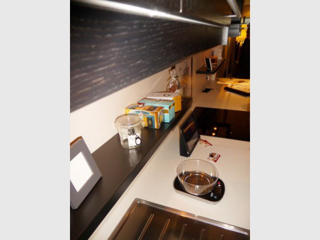 Cuisine - Appartement témoin Institut de la Vision
