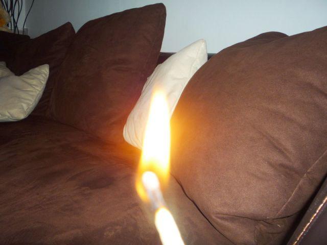 Canapés inflammabilité