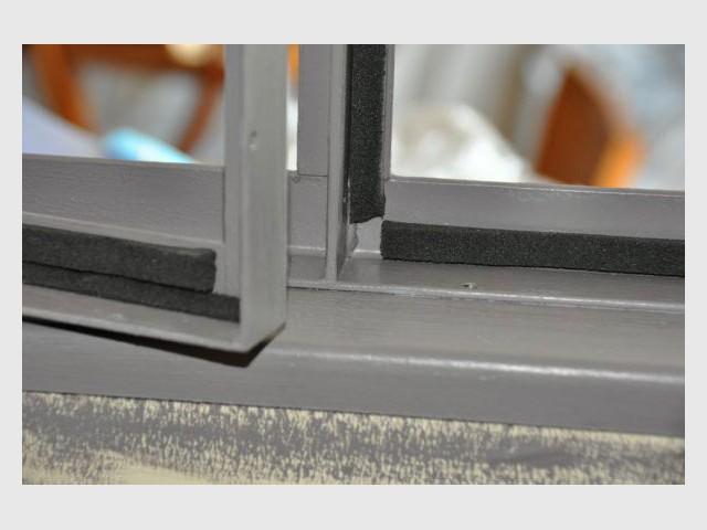 Verrière détail avant pose vitres