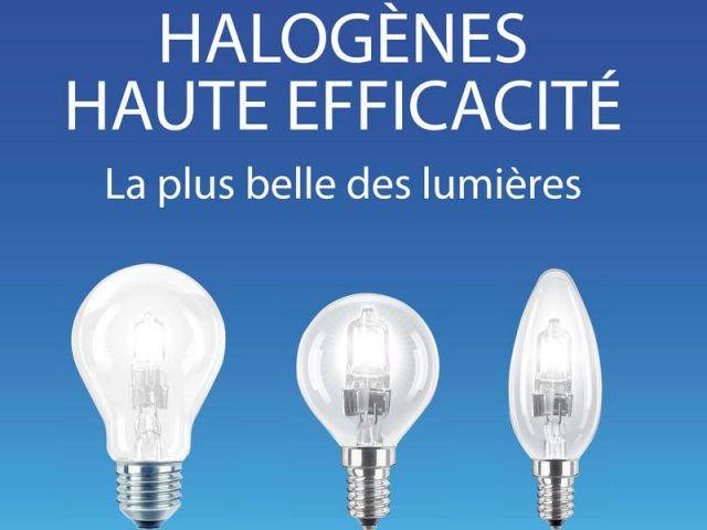 Halogènes haute efficacité