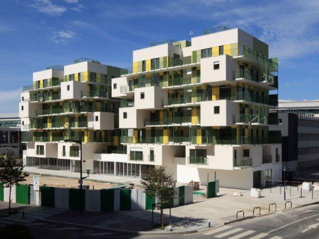 Vue générale - Koz architectes logements