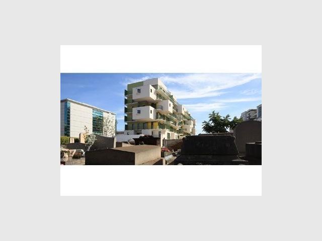 Vue de côté - Koz architectes logements