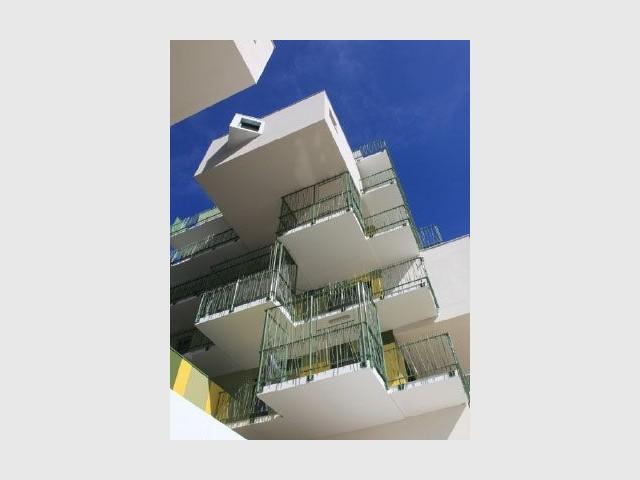 Balcons - Koz architectes logements