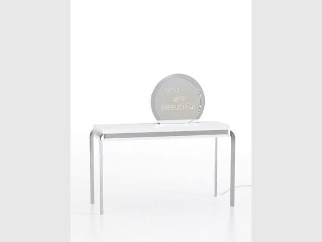 Alnoor d veloppe son concept de design symbolique for Symbolique du miroir