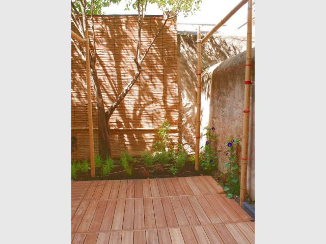 Nattes de Camargue - Reportage - un jardin urbain
