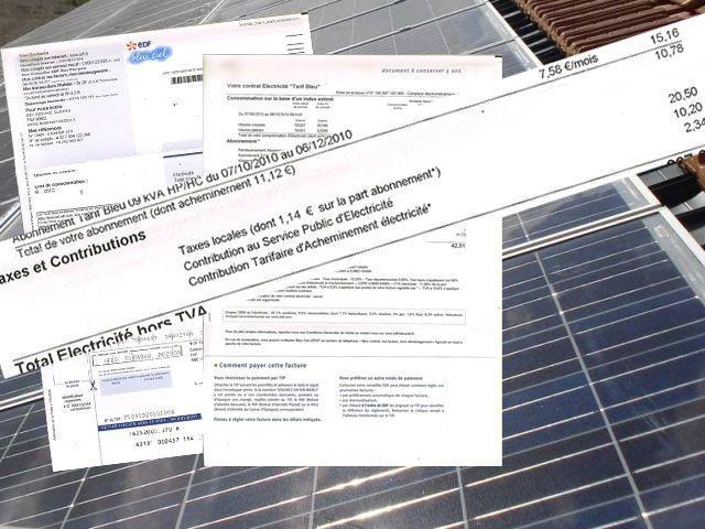 Contribution au service public de l'electricité