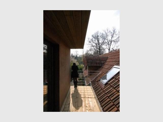 Accès extension - Reportage extension maison