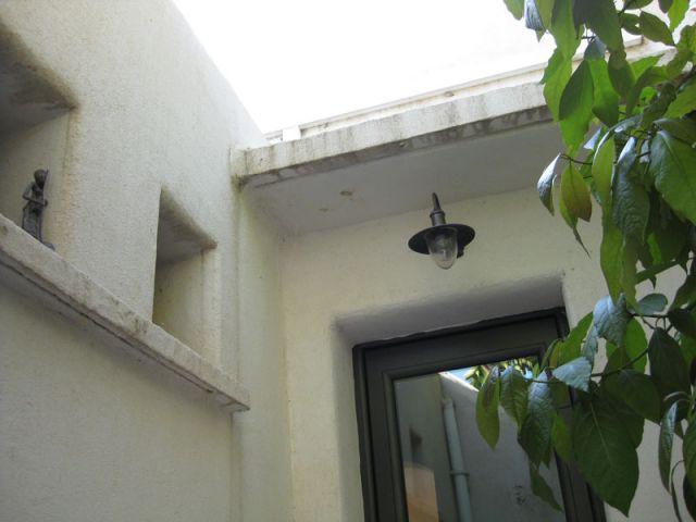 Détail de la façade - Avant l'isolation - Isolation par l'extérieur