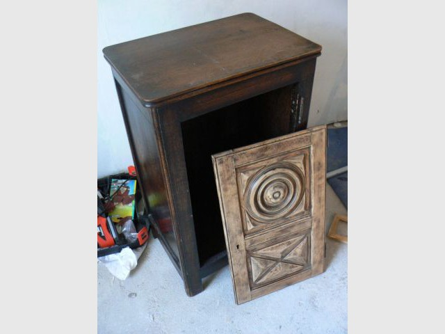 Pas pas relooking d 39 un vieux meuble breton - Auto entrepreneur relooking meuble ...