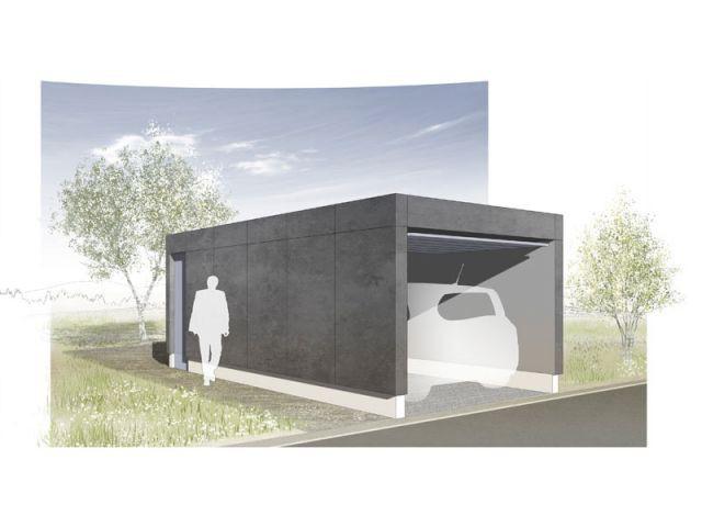 Option garage - Maison So'Bois