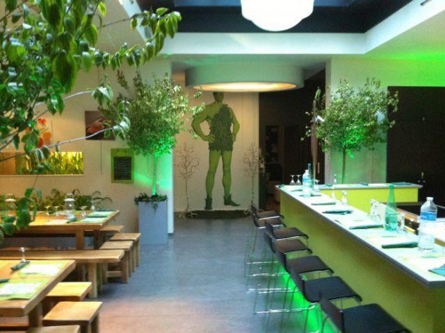 Le vert à l'honneur - Jardin éphémère
