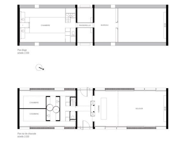 une long re qui joue la carte de l 39 audace. Black Bedroom Furniture Sets. Home Design Ideas