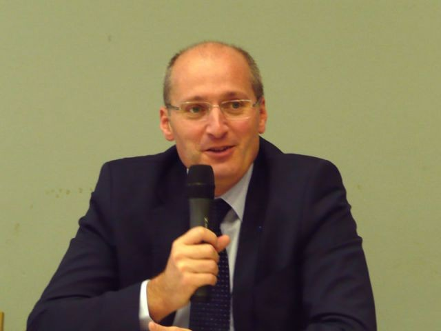Benoît Renaud, président des Notaires de France