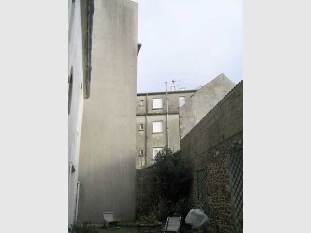 Maison avant - Extension Brest
