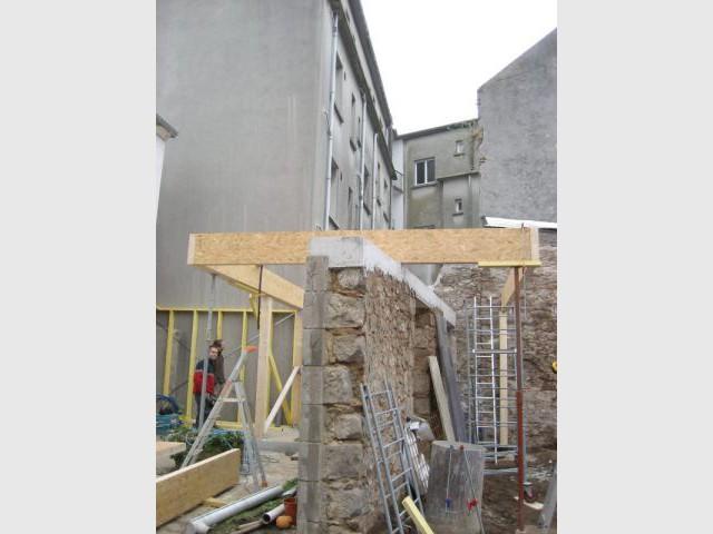 Ossature bois 1/2 - Extension Brest