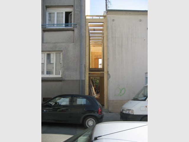 Passage en travaux - Extension Brest